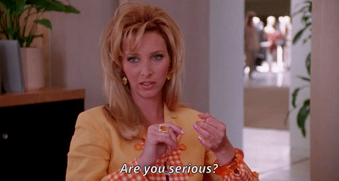"Lisa Kudrow dice: ""Are you serious?"" al enterarse de cómo obtener el consentimiento de clientes en WhatsApp Business"