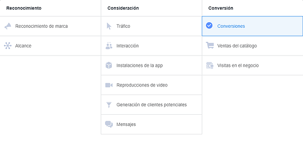 objetivos de marketing-facebook ads-instagram ads-buyer's journey