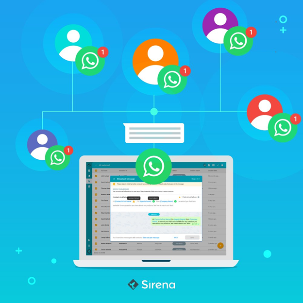 Send Whatsapp Messages Risk Free Presenting Sirena Broadcast Messages